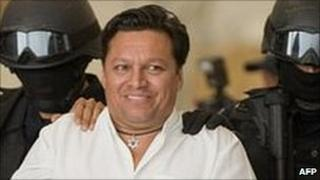 Jose Flores Pereira under arrest