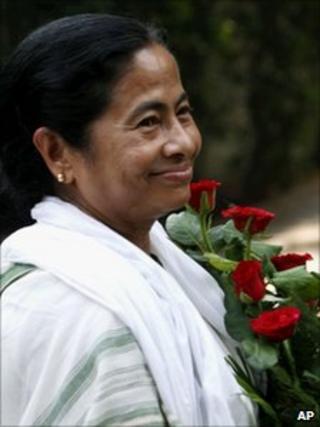 Mamata Banerjee on 16 May 2011