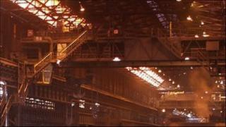 Inside Lackenby Beam Mill