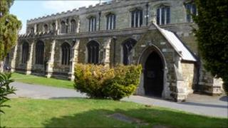 St Mary's Church in Horncastle