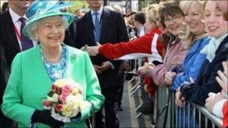 Queen in Cork