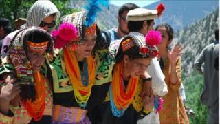 women in kalash