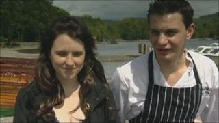 Carly-Jade Wilkes and Stephen Holland