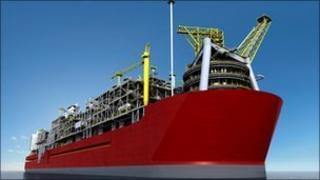 Shell LNG facility