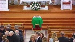 Garret Fiztgerald funeral