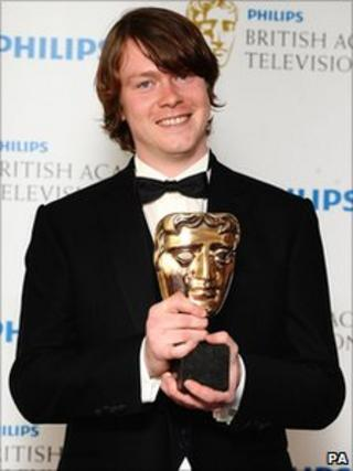 Daniel Rigby won best actor at the Bafta TV awards
