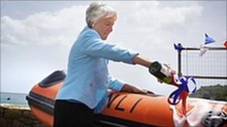 New lifeboat being formally named by Dianne Ward