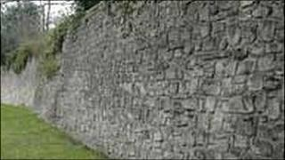 Hereford's city walls
