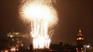 Edinburgh International Festival fireworks
