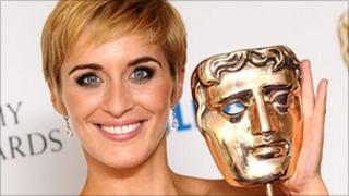 Vicky McClure with the best actress Bafta