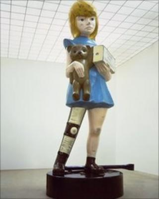 Damien Hirst's Charity statue