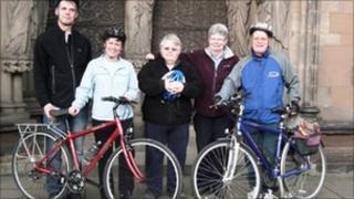 Chris Craddock, Rosanne Wilshire, Cheryl Baxter, Helen Betts and Bryan Ramsell.