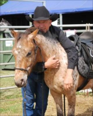 Mike Branch with Dartmoor Hill Pony