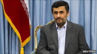 Iranian President Mahmoud Ahmadinejad (22 May 2011)
