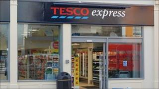 Reopened Tesco Express store