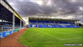 Peterborough United's London Road stadium (Photo: theposh.com)