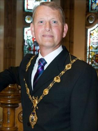 Mayor of Derry Maurice Devenney