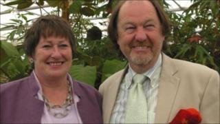Sue and Bleddyn Wynn Jones