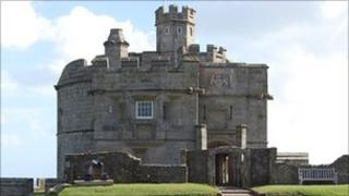 Pendennis Castle in Falmouth