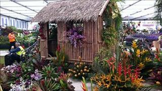 The Grenada at Chelsea display 'Castaway - A Grenada Idyll' at the 2011 RHS Chelsea Flower Show