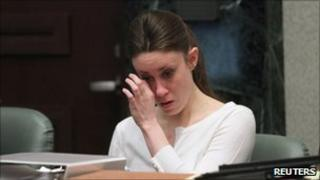 Casey Anthony in court in Florida