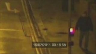CCTV image of the Brighton rape suspect