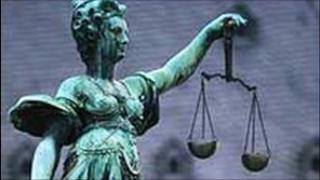 Court statue