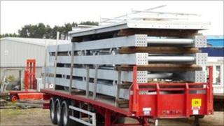 Similar trailer load that was stolen