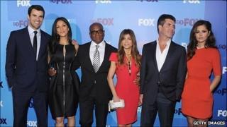 The US X Factor team