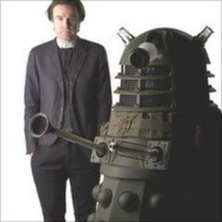 Piers Wenger and a Dalek