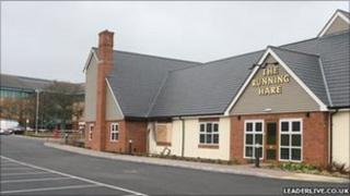 The Running Hare pub at Ewloe, Flintshire (picture courtesy of leaderlive.co.uk)