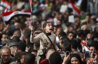 Demonstrations in Egypt
