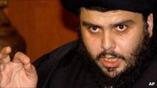 Iraqi cleric and militia leader Moqtada al Sadr (file image from 2006)