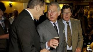 Prince Charles in Stourpaine