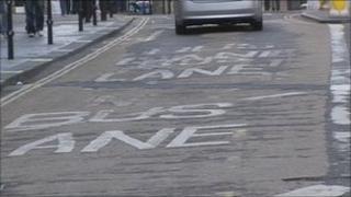Bath bus lane