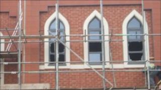 Vandalism at Redditch mosque