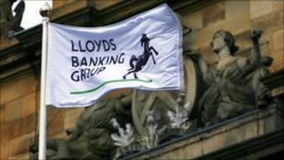 Lloyds banking group flag