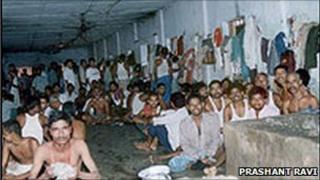 File picture of a Bihar prison
