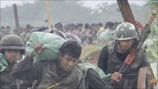 Sri Lankan troops