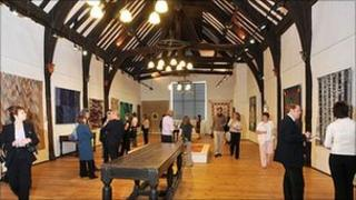 Great Hall of Quilt museum in York. Copyright: Quilters' Guild of the British Isles