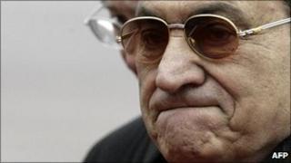 Hosni Mubarak, file photo from 2008