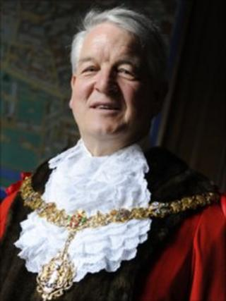 Ian Nimmo-Smith, Mayor of Cambridge,