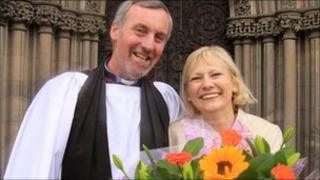 Paul Thomas and his wife June