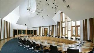 scottish parliament committee room