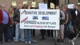 Bangor protesters