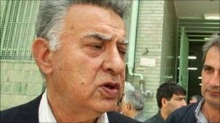 Ezatollah Sahabi (file photo, May 2000)