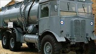 AEC 1943 Bowser petrol tanker