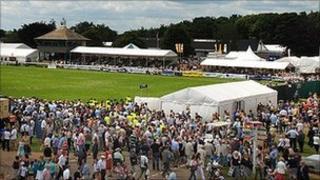 Royal Norfolk Show grandstand