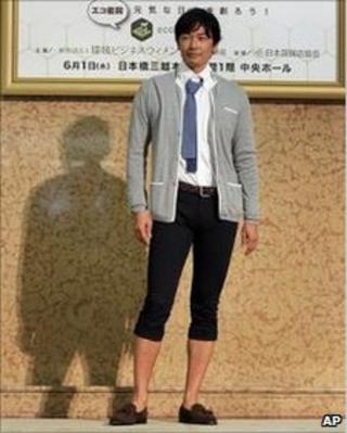 Male model in casual office wear