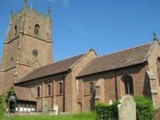 St. Peter's church in Astley
